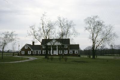 House near George Bryon House - Note on slide: Lexington Pike