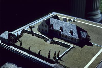 Robert McMeekin House - Note on slide: Model. Richmond Road