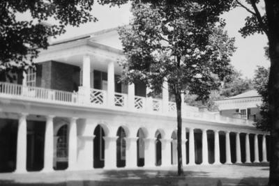 University of Virginia - Note on slide: Pavilion VII. Cornerstone laid October 6, 1819