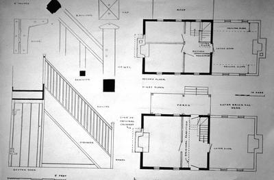 Adam Rankin House - Note on slide: Floor Plans
