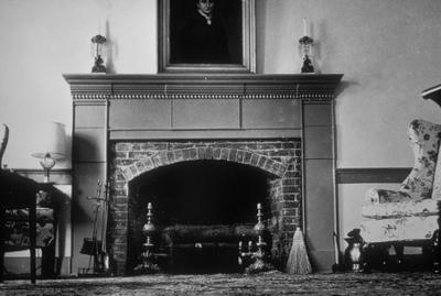 Spring Hill Parlor - Note on slide: View of Fireplace and Mantle