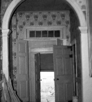 Spring Hill Hall - Note on slide: View of Hall and Doorway
