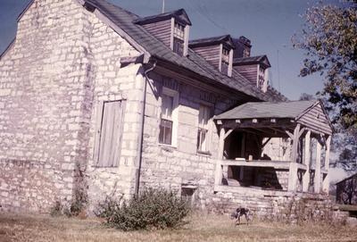 John Scott House - Note on slide: Exterior view