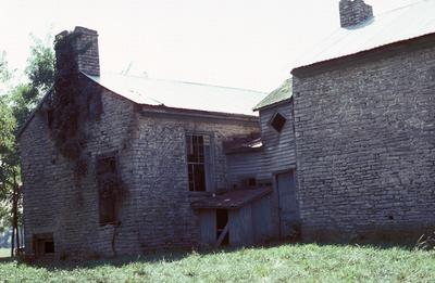 Stone House - Note on slide: Exterior view
