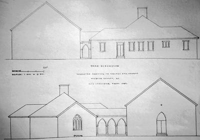 Walnut Hill Church - Note on slide: Design and Elevations