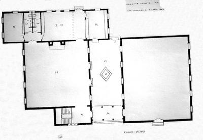 Walnut Hill Church - Note on slide: Design and floor plan