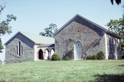 Walnut Hill Church - Note on slide: Exterior view
