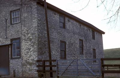 Stone Meeting House - Note on slide: Exterior view