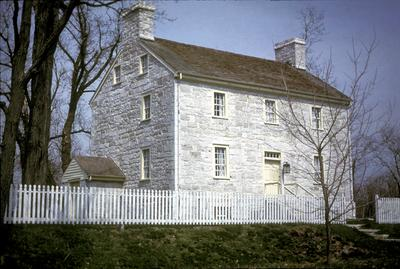 Shakertown meeting house - Note on slide: Exterior view