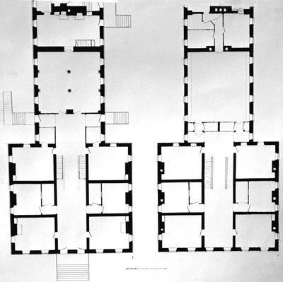 Center family house - Note on slide: Floor plans