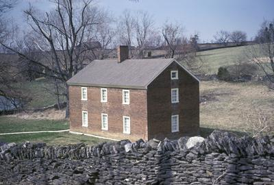 Shakertown Tanyard house - Note on slide: Exterior view