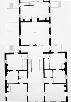 North lot family house - Note on slide: First floor plan