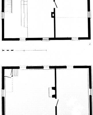 Brick house at tankard - Note on slide: Floor plans