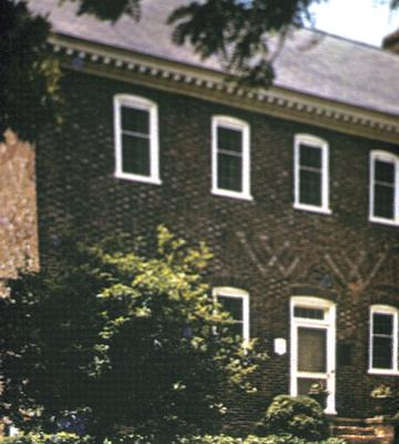 William Whitley house - Note on slide: Exterior view