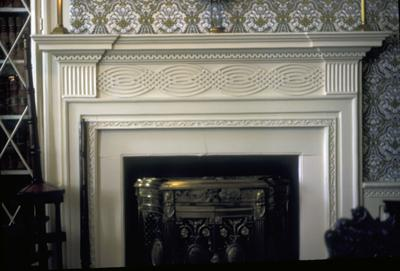 Clermont - Note on slide: Parlor mantle