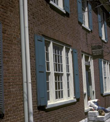 Chiles Tavern (Morgan Tavern) - Note on slide: Exterior view