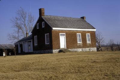 House in Boyle county - Note on slide: Exterior view, photo by Carolyn (Woolly)