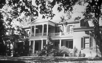 Bel Air house on Hermitage Highway TN - Note on slide: Exterior view