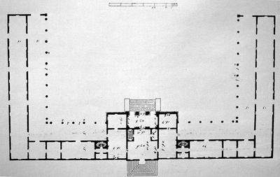 Plan of Palladio Villa - Note on slide: Plan. Inspired by Andrea Palladio (1508 - 1580)