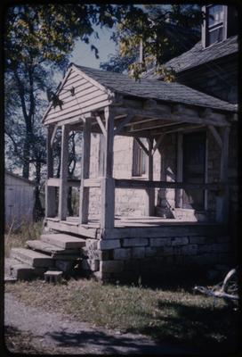 Portico - John Scott House - Jessamine County