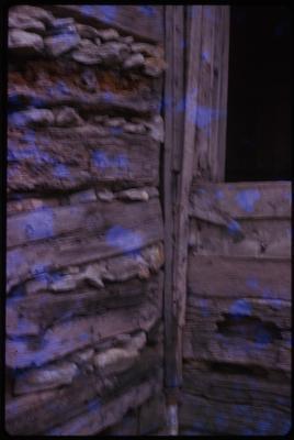 Tenon Joint Log House