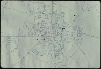 Harrodsburg, Ky. Modern Map