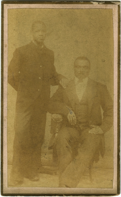 Two unidentified African-American males