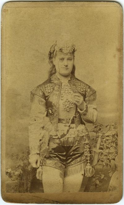 Pauline Markham; written on back