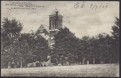 Gymnasium, Buell Armory, Alumni Hall, Y.M.C.A., Barker Hall (3 copies)