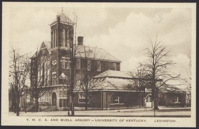Gymnasium, Buell Armory, Alumni Hall, Y.M.C.A., Barker Hall