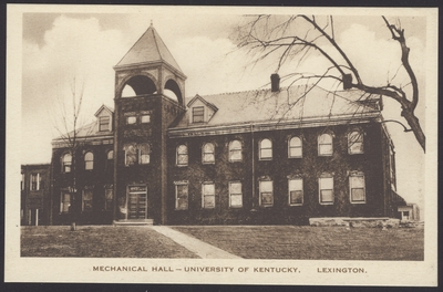 Mechanical Hall, Dicker Hall, Anderson Hall, Engineering Quadrangle (3 copies)