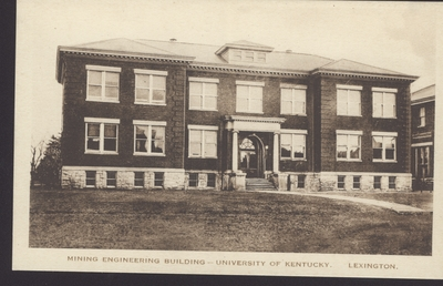 Mining Engineering Building, Norwood Hall