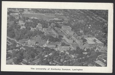 Aerial View of University of Kentucky (7copies)