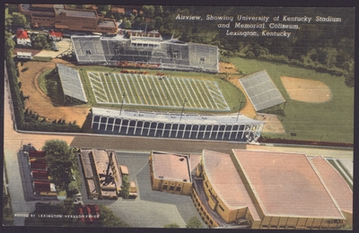 Aerial View of University of Kentucky
