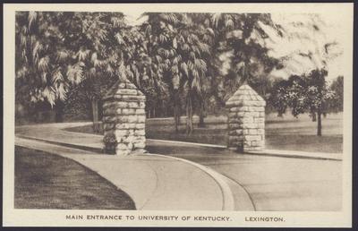Main Entrance to University of Kentucky