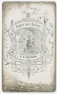 James P. Gay, Winchester, Kentucky