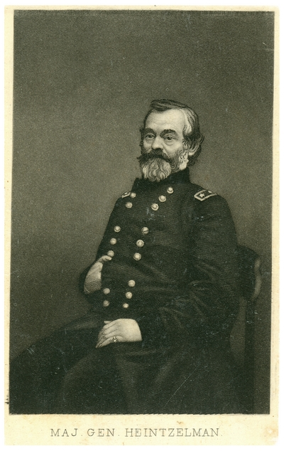 Major General Samuel Peter Heintzelman (1805-1880), U.S.A