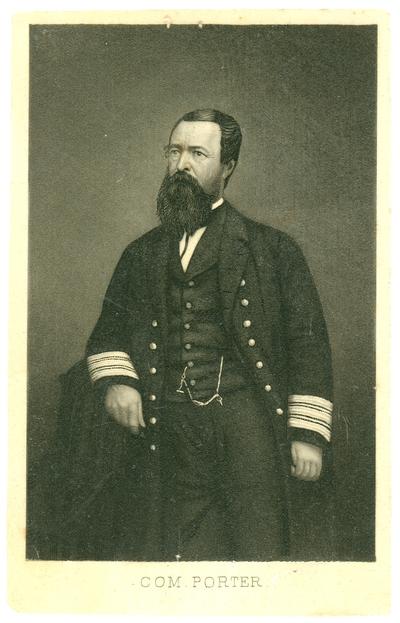 Commander David Dixon Porter (1813-1891), U.S.A