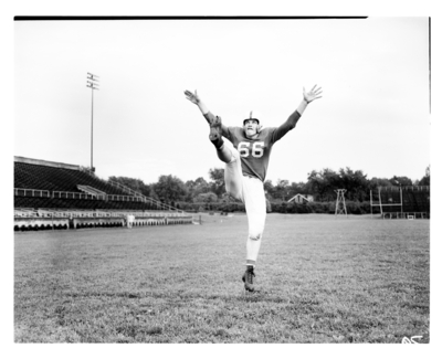 Unidentified football player