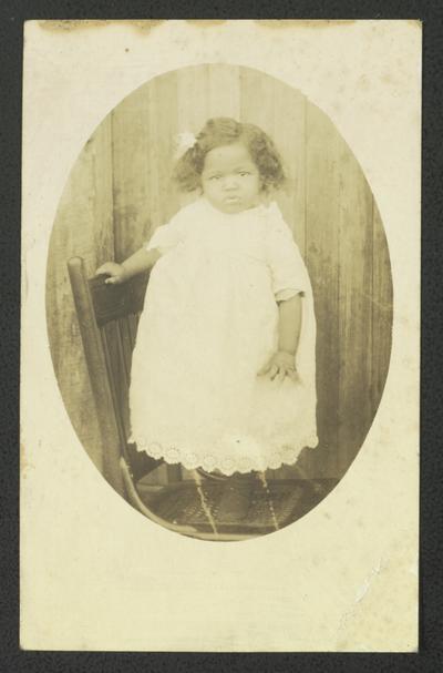 Portrait of Geneva Jernigan, 2 years old