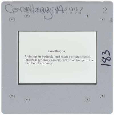 Corollary A