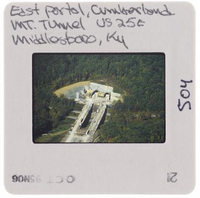 East Portal, Cumberland Mountain Tunnel US 25E, Middlesboro, Kentucky