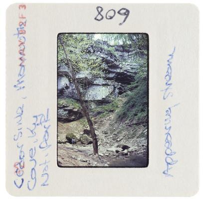 Cedar Sink, Mammoth Cave, Kentucky, National Park - appearing stream