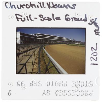 Churchill Downs Full-Scale Grand Stands