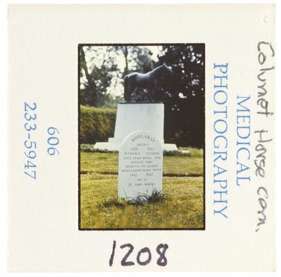 Calumet horse cemetery