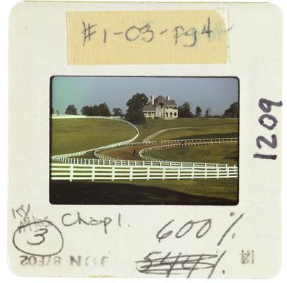 Practice Track on Horse Farm