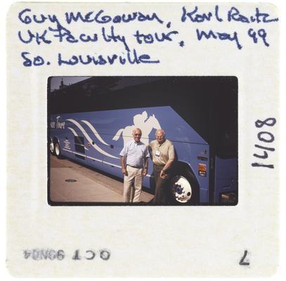 Guy McGoway, Karl Raitz UK Faculty Tour, May 99 South Louisville