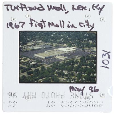 Turfland Mall, Lexington, Kentucky - 1967 first mall in city