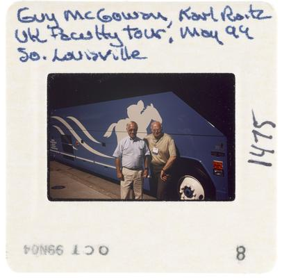 Guy McGowan, Karl Raitz University of Kentucky Faculty Tour South Louisville