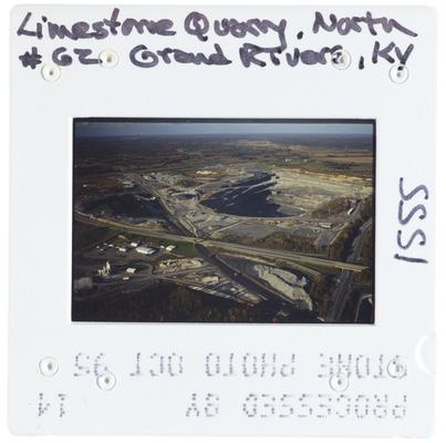 Limestone Quarry, North 62 Grand RIvers, Kentucky
